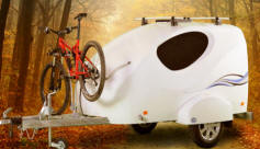 New From Camp Runner The Splash - Mini Caravan Teardrop tRAILER