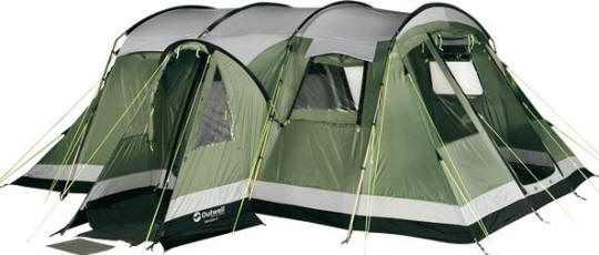Outwell Montana Family Size Tent  sc 1 st  365 C&ing Caravanning & Review Outwell Montana 6