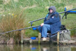 Fishing at Dunston Heath