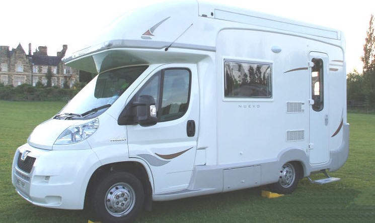 The NUEVO from Autosleeper, a compact 4 berth motorhome