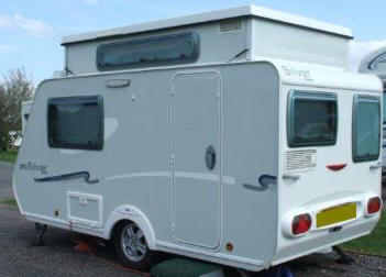 Popular Pin Trigano Silver 310 Tdl Pop Up Caravan 2013 Electric Roof On