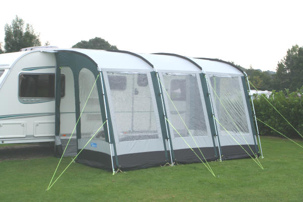 Awning Size Guide - Caravan awnings, tents, camping equipment and