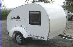 All Sport Load Hauler Sleeper Teardrop Trailer