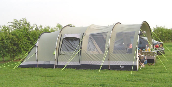 Relaxing Times In This Great Tent - Outwellu0027s Trout Lake  sc 1 st  365 C&ing Caravanning & Review - 60 Days In The South West - Outwellu0027s Trout Lake