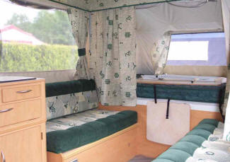 Folding Camper Review Review Of The Pennine Pathfinder